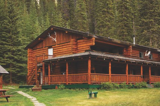 Sundance Backcountry Lodge in Banff, Canadian Rockies