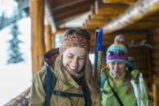 Sundance Lodge is the perfect cross country ski backcountry cabin