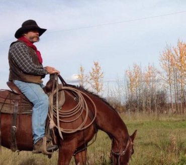 Ronald Head Farrier with Banff Trail Riders
