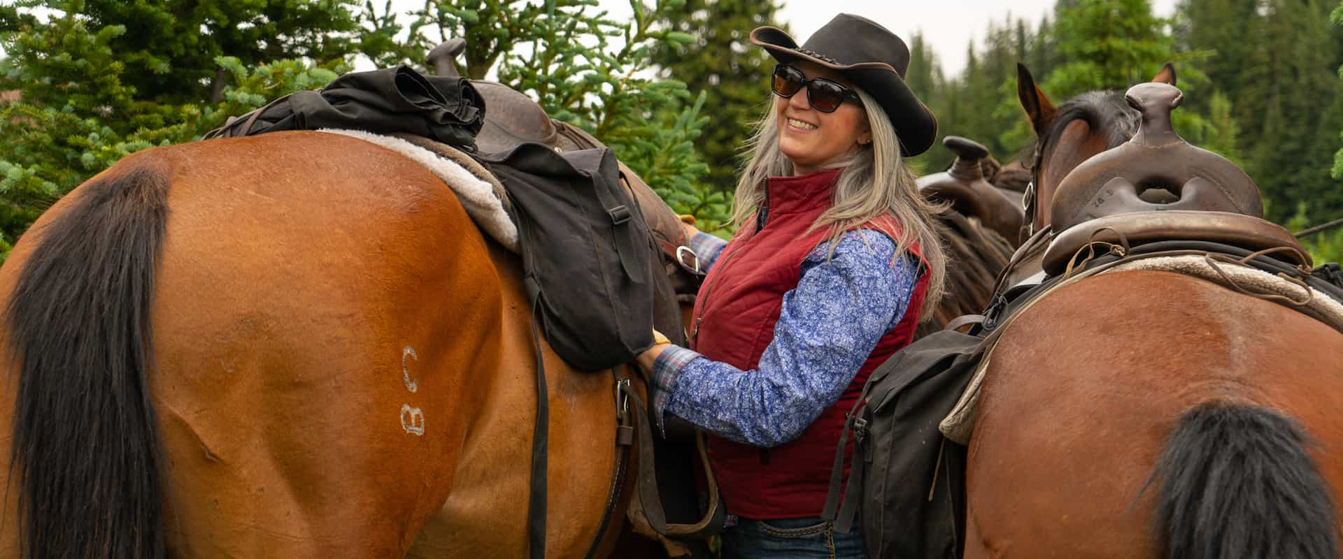 Saddle Up for the Stoney Creek Backcountry Tent Trip with Banff Trail Riders in the Canadian Rockies