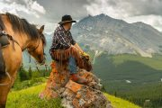 Take a Day Ride to Cuthead Lake on the Cascade Valley Backcountry Tent Trip with Banff Trail Riders in the Canadian Rockies