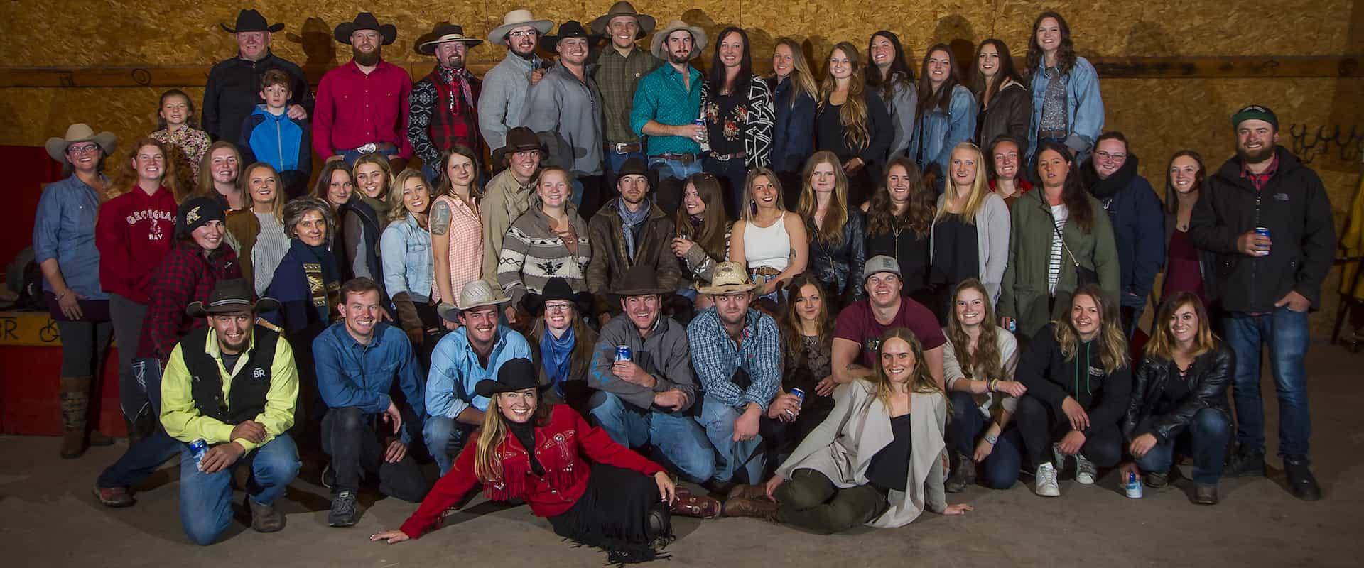 2018 Banff Trail Riders Staff Photo