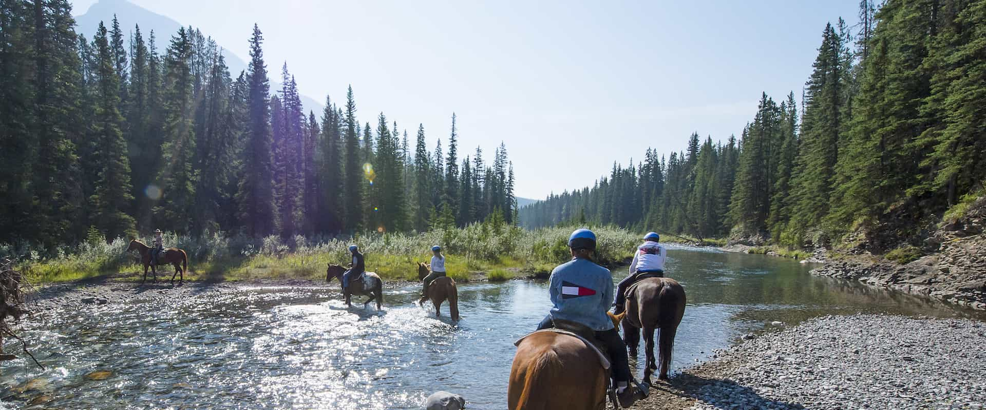 Spray River Ride – 1 Hr