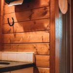 Sundance Lodge has indoor washroom facilities and hot showers