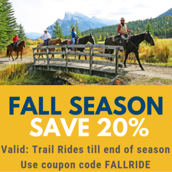 Banff Trail Riders Fall Deal Graphic