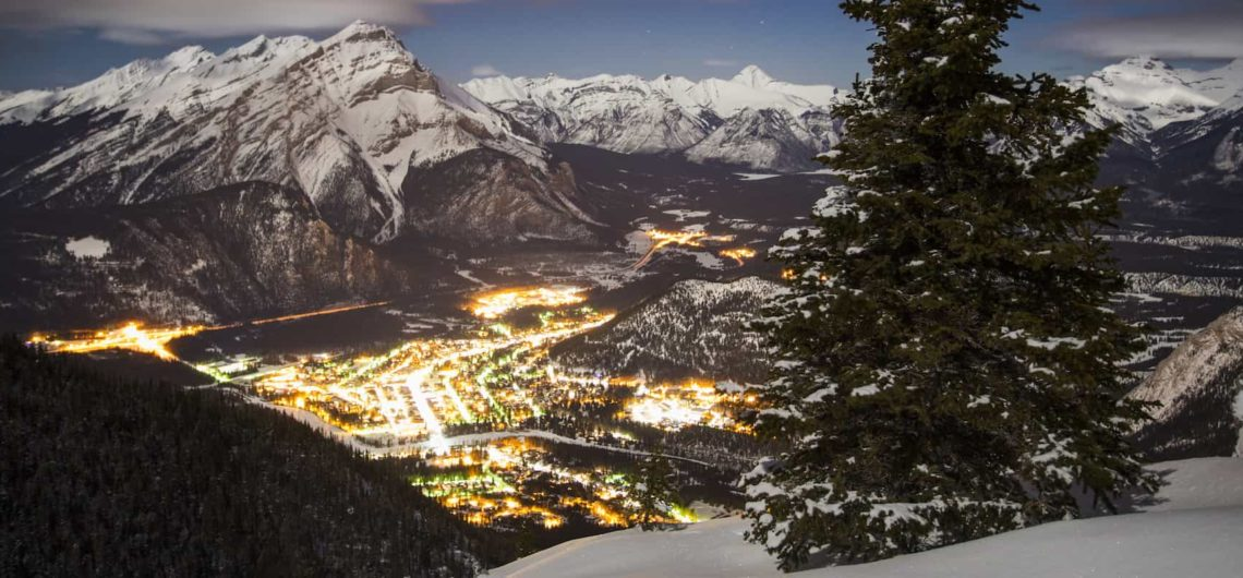 Visit Banff in winter