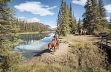 Banff Hourly Trail Rides Menu Icon